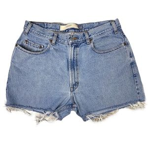 Vintage Gap High Waisted Mom Jean Shorts